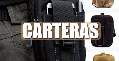 Carteras tácticas militares