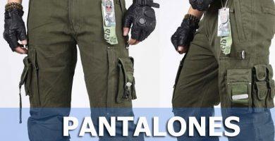 Pantalones tácticos militares