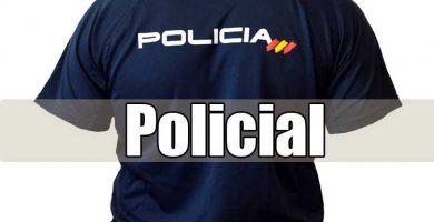 material especializado para policías