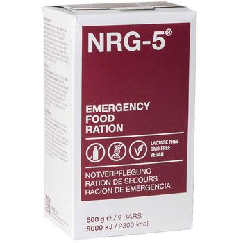 ración emergencia nrg 5