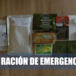 ración de emergencia