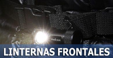 lINTERNAS FRONTALES